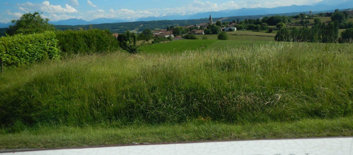 Le village de Montmaurin